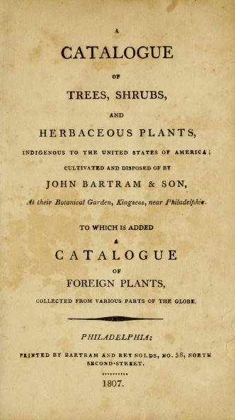 Bartram 1807