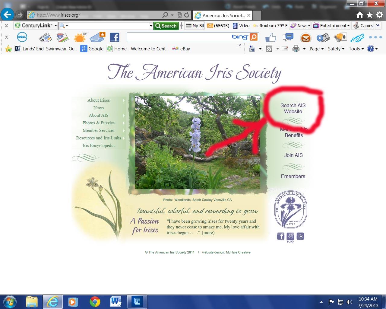 AIS Homepage